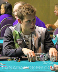 Michael McDonald at the 2010 Canadian Open Poker Championships
