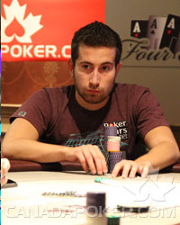 Jonathan Duhamel at the Four Aces Poker Open in 2010
