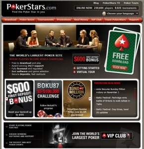 Poker Stars Website