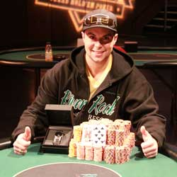 BCPC Main Event Winner Eric Place