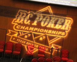 BC Poker Championships at the River Rock Hotel and Casino
