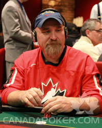 Richard Webb at the 2010 BC Poker Championships
