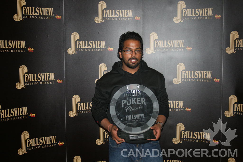 Canadian Poker Results