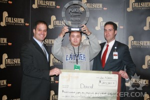 1st Place Fallsview Poker Classic 2011 $2,500 Event Winner