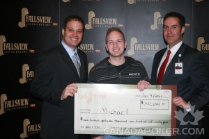 2nd Place Fallsview Poker Classic 2011 $2,500 Event