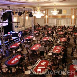 Miriam Foundation Montreal Open Empty Poker Room