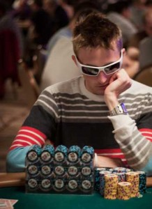 Quebec's Sebastien Roy started 4th in Chips at the Final Table of Event 54
