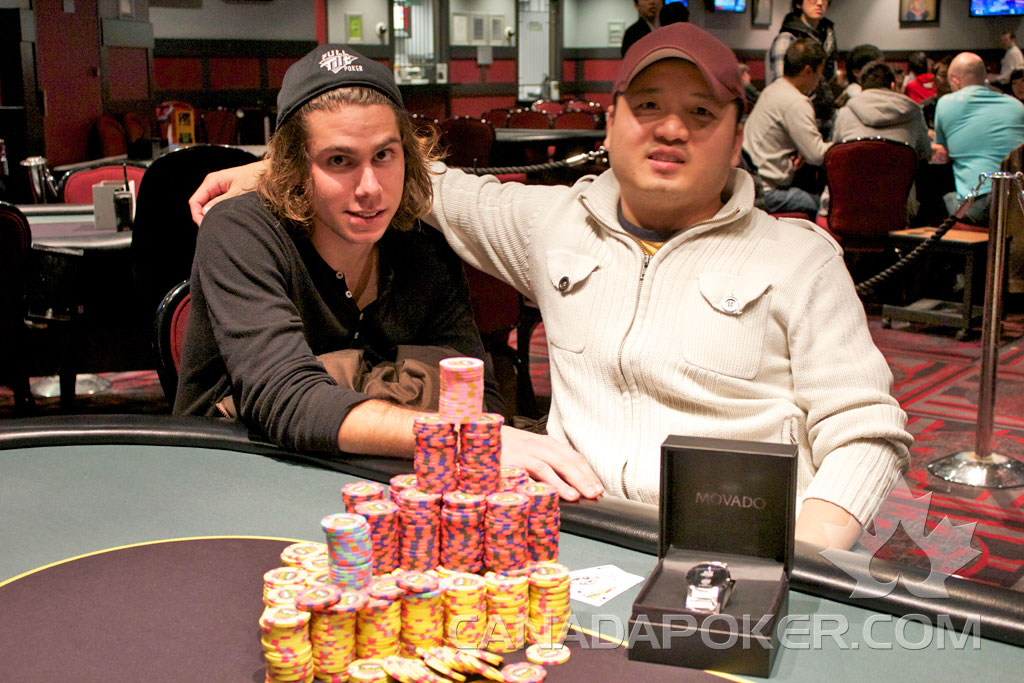 2011 BC Poker Championships High Roller Winners