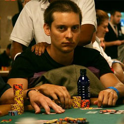 Toby Maguire Poker