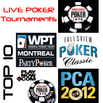 Top 10 Live Poker Tournaments For Canadian Poker Players During 2012 Part 2 5 1 Canada