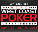 2013 West Coast Poker Championship at Edgewater Casino – Sept 27th to Oct 6th