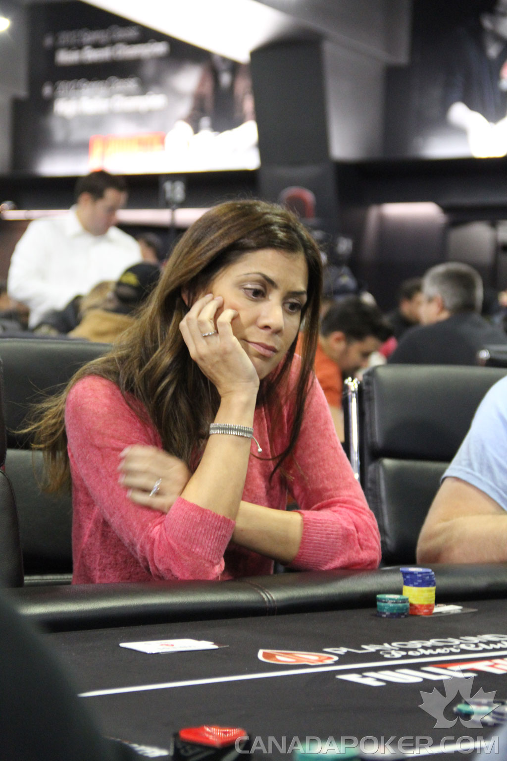 Anne Marie Angelil Canada Poker Canadian Poker News