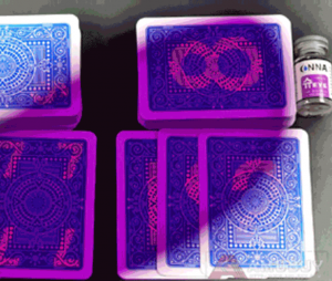 invisible ink cards cheat
