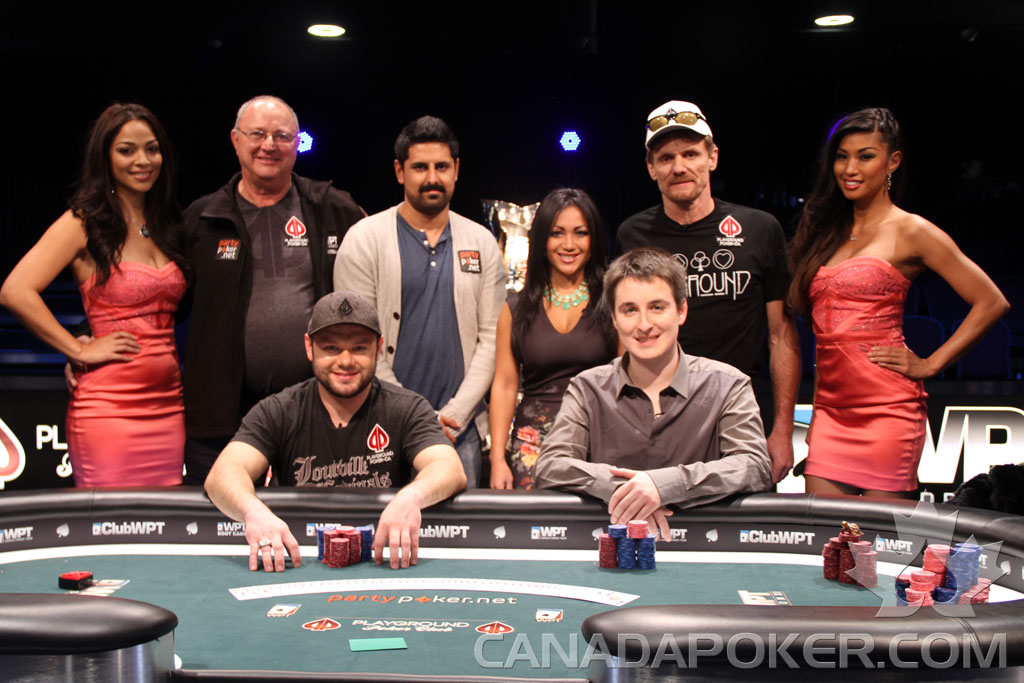 2013 WPT Montreal Final Table