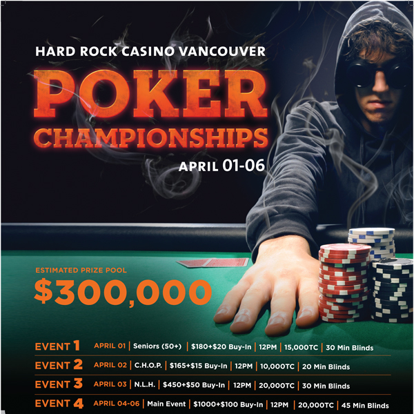 Hard Rock Casino Vancouver Poker