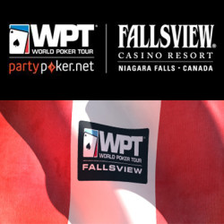 Win a $6,500 Package on partypoker to the WPT Fallsview Poker Classic Feb 13 - 16