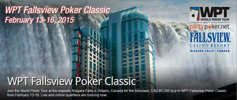 Texas holdem tournament niagara falls
