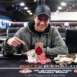 Sergio Vigano Wins the Main Event of 2015 Playground Poker Winter Festival