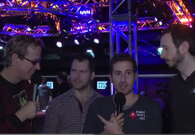 Interview with Phil Laak, Daniel Cates, Jonathan Duhamel, Brian Rast