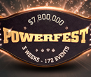 POWERFEST $7.8 million Guarantee on partypoker