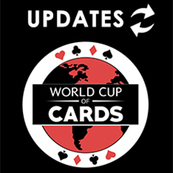 2016 World Cup of Cards UPDATES