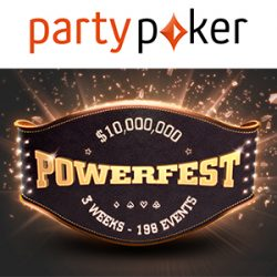 Massive $10 Million Guaranteed at partypoker POWERFEST