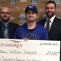 William Harper Wins 2017 Deep Freeze Bounty Poker Tournament at Red Shores