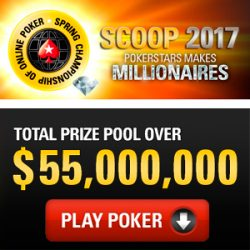 2017 Spring Championship of Online Poker (SCOOP), April 30-May 22